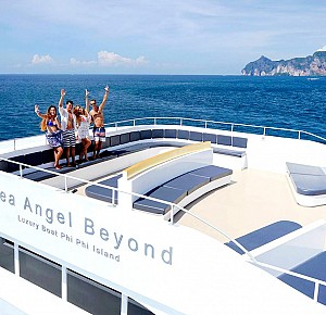 Tour Phi Phi islands by Luxury Ferry Boat(Economy class)
