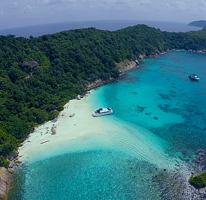 Racha islands Compact One Day Tour by Speed Catamaran