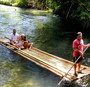 Bamboo Rafting & Safari