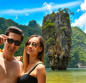 James Bond Island by Speed Boat