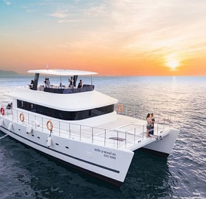 Sunset Krabi by Luxury Cruise